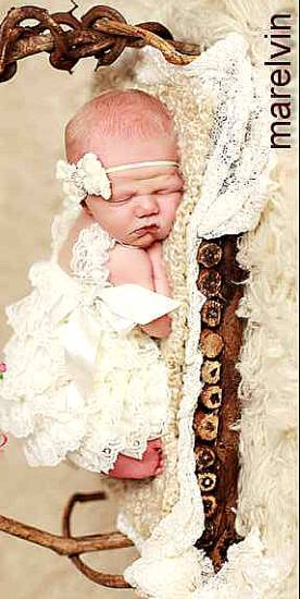 ''Luxury baby lace'' λευκό